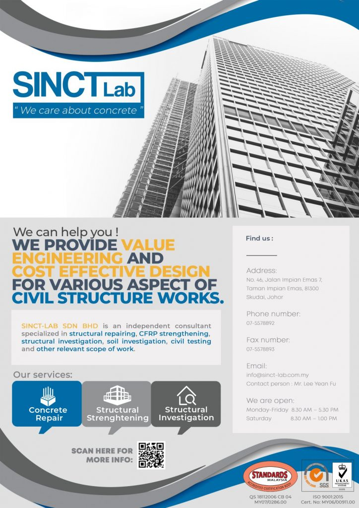 Sinctlab-We Care About Concrete- Poster 1